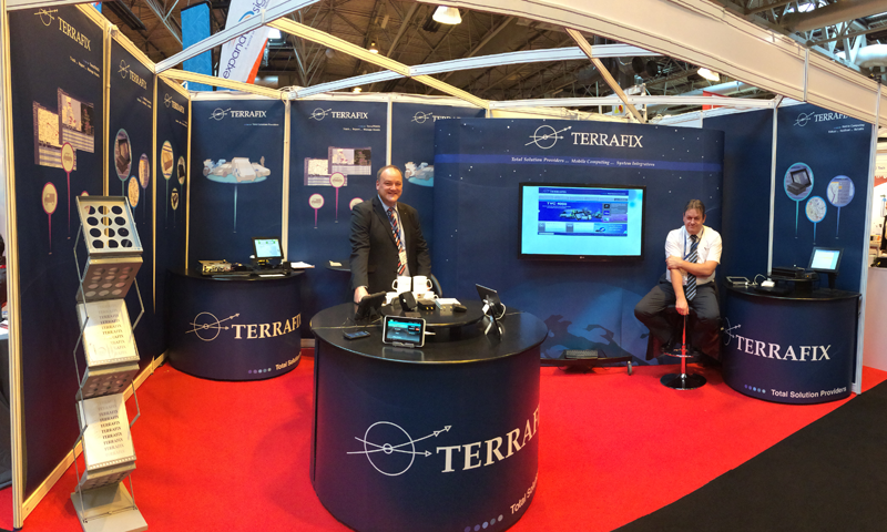 Emergency Services Terrafix Stand